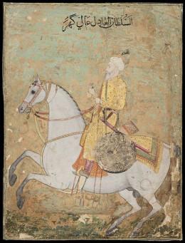 The emperor regarded Begum Samru as his beloved daughter