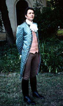 A historical silk cravat for men.