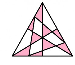 How many triangles do you see in the image below?