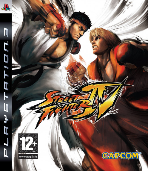 Street Fighter IV PS3 cover