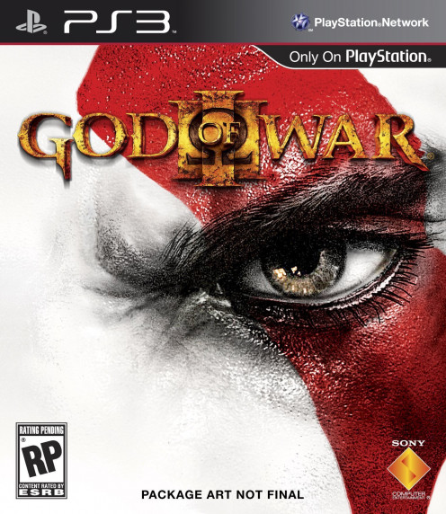 God of War 3 PS3 cover