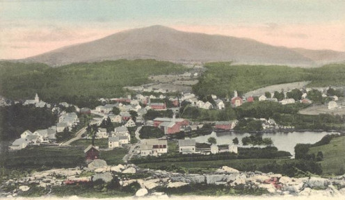 Troy NH sits near the base of Monadnock Mountain.