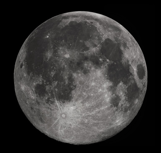 It can be hard to sleep during the full moon sometimes.