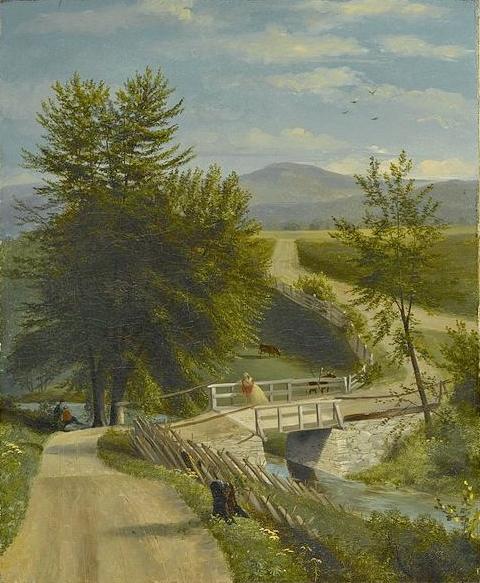 Lover's walk, by Alexander Ransom