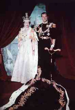 This picture of QE 2's coronation clearly shows her dominance to last a lifetime.