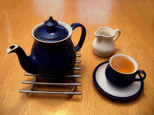 The aesthetic drink - Darjeeling tea.