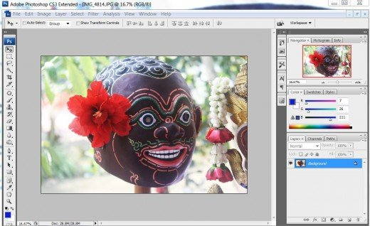 Screenshot of Photoshop CS3