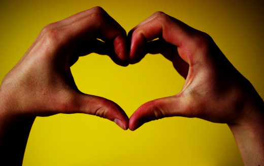 Love is two hearts becoming one.