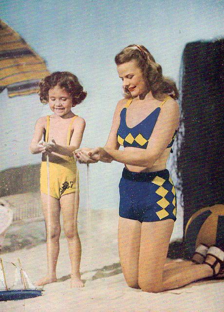 Vintage Swimwear Image with CC 2.0 License