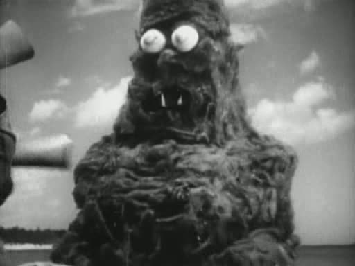 Creature From The Haunted Sea (1961). (Actor Beach Dickerson, creature designer)