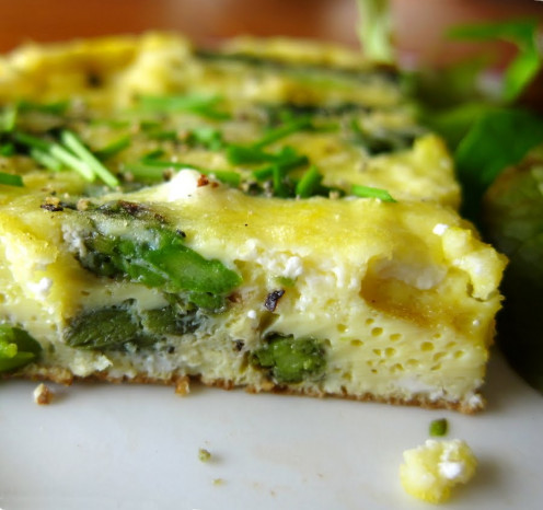 "Additionally visit ""Last Call for Corn"" and try their Asparagus and Goat Cheese Frittata.."