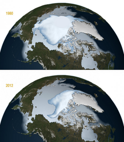 NASA image release Feb. 29, 2012 GREENBELT, Md. -- A new NASA study revealed that the oldest and thickest Arctic sea ice is disappearing at a faster rate than the younger and thinner ice at the edges of the Arctic Ocean's floating ice cap. The thick