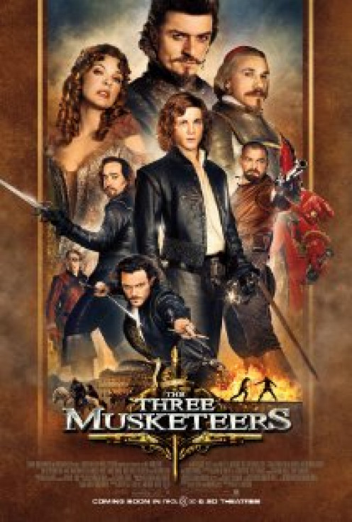The Three Musketeers was funny and serious at the same time. This show has been made into books and films.