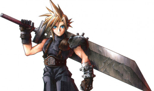 Cloud Strife, my first Final Fantasy hero