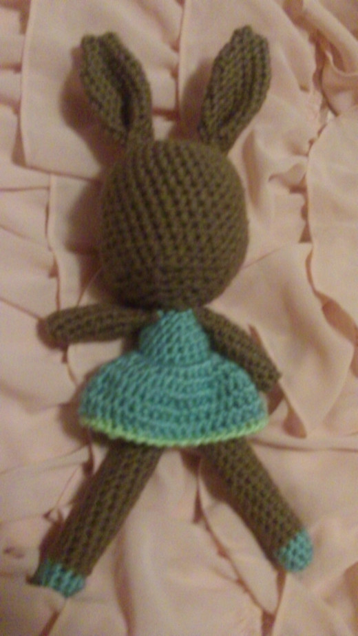 WIP Bunny doll