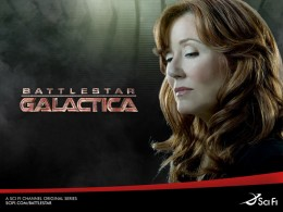 Laura Roslin on Battlestar Galactics