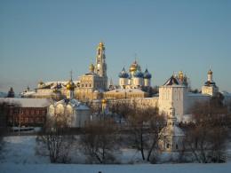 Zagrosk monastry and church near Moscow