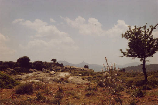 Photograph of Sardinia by Helen Lush