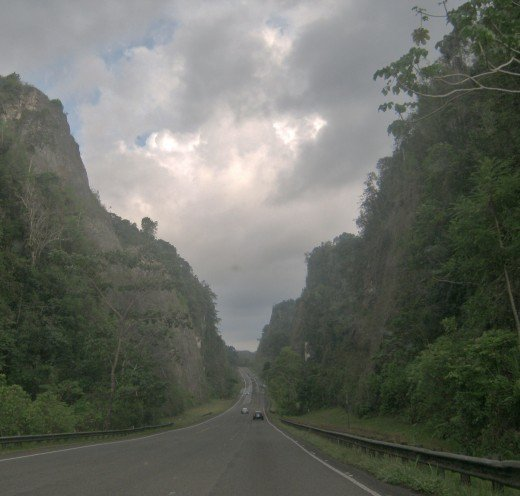 Road 10 from Arecibo to Utuado, PR