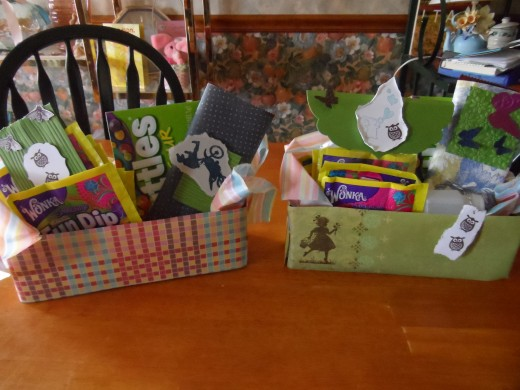 Easter baskets ideas crafts and greeting cards hubpages gift baskets for teen boy and girl negle Gallery