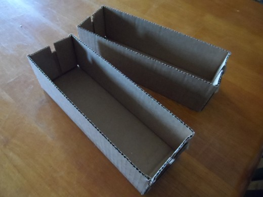 Empty Velveta Boxes are perfect size for gift containers. Decorate the outside with designer paper or gift wrap