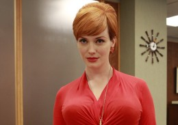 "Joan Holloway on ""Mad Men"""