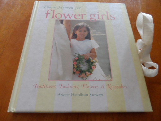 Flower girls book and keepsake gift