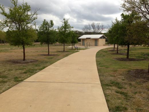 Entrance to Champion Park - Cedar Park Texas