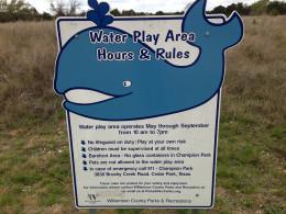 Water feature play area - Champion Park - Cedar Park TX