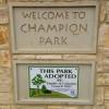 Champion Park Williamson County Parks Cedar Park Texas Regional Trail Hike Bike on Brushy Creek