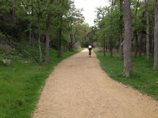 Hike and Bike Trails - Champion Park - Cedar Park TX