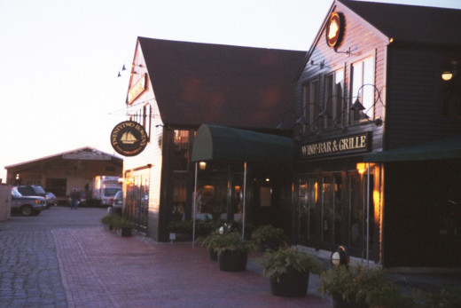 One of our favorite restaurants in Newport, R.I. We went there a lot when we were first dating!