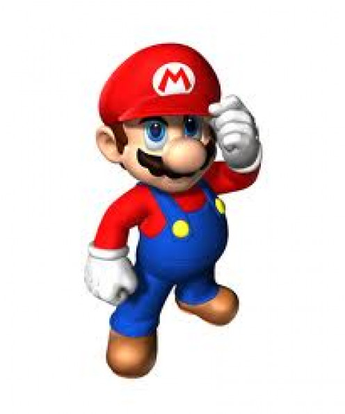 Mario was the famous character for Nintendo for the Super Mario Brothers games not to mention other games such as Donkey Kong and Mike Tyson's Punch Out.