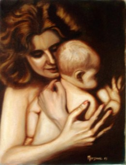 It is normal for women to be maternal, nurturing and loving.  Wouldn't be wonderful to have a loving and caring government ruled by women.