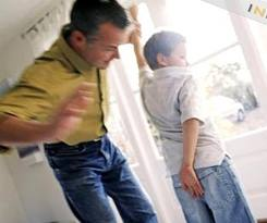 In large families,parents are often at their emotional and mental limits in dealing with their children.It is not unusual for them to employ harsher, more corporal forms of discipline to their children.