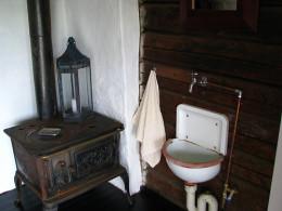 An Amazingly Chic Farmhouse Bathroom