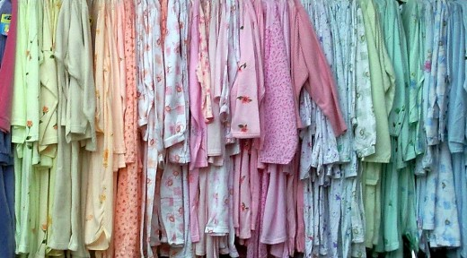Cozy pajamas - this makes me feel sleepy!