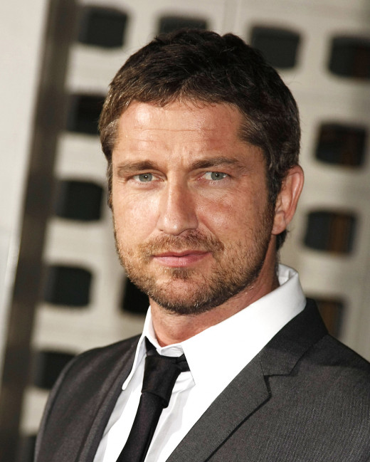 Gerard Butler (his voice is sexy, don't you agree?)