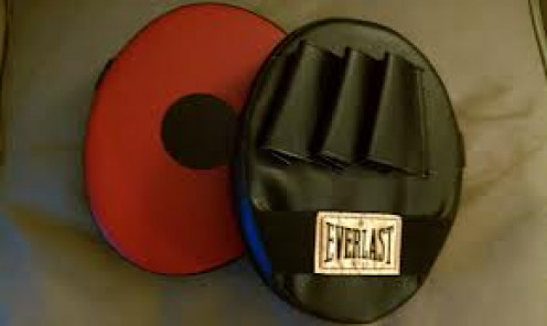 Punch mitts are a boxing trainers best friend.