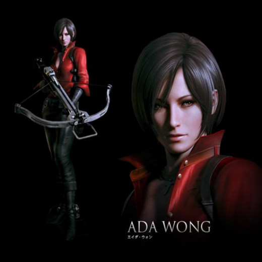 And the final playable character, Ada Wong.