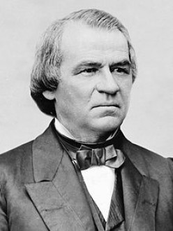 PRESIDENT ANDREW JOHNSON, POTUS #17, 1865 – 1869