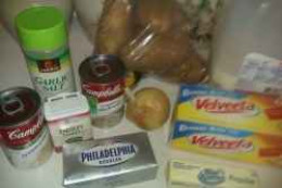 Potato Soup Ingredients