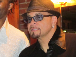 Backstage I interviewed the extremely talented Sinbad.  His realistic down to earth comments were not just funny but inspirational.