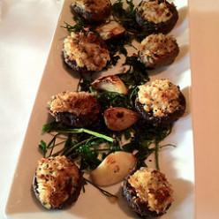 Tarragon Stuffed Mushrooms Recipe