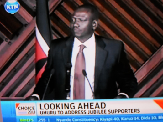Deputy President-elect of Republic of kenya