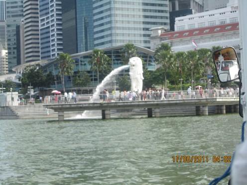 Opposite Marian Bay Sands