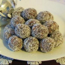Homemade Coconut Chocolate Balls Recipe