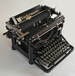 When is the last time you used a typewriter?