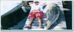 Deep Sea Fishing can provide some huge fish.