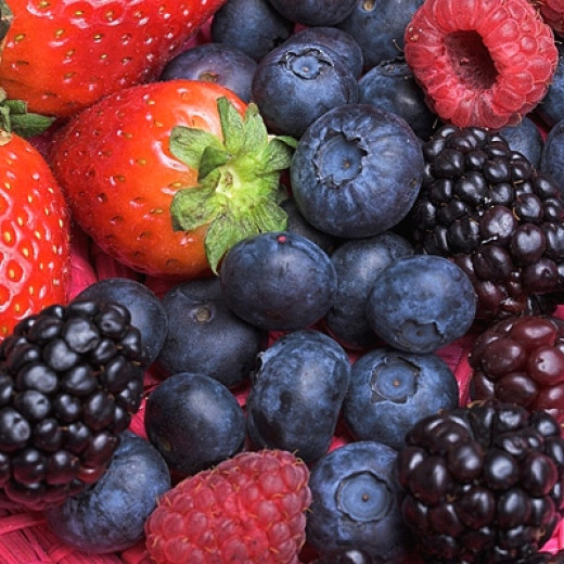 Fruits have natural colors that can be used to color various dishes